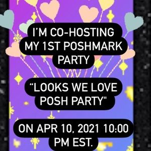 "CO-HOSTING ""Looks We Love Posh Party"""